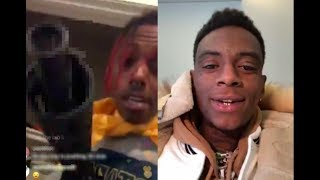 """Famous Dex CHECKS Soulja Boy on IG, says """"Stop PLAYING with ME I'll FIND YOU"""""""