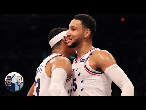 Video: Ben Simmons is hitting 3s according to Tobias Harris | Jalen & Jacoby