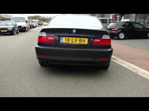 BMW E46 316i EXHAUST SOUND SPORTAUSPUFF ECHAPPEMENT TAKE OFF WWW AUSPUFFPUNKT DE