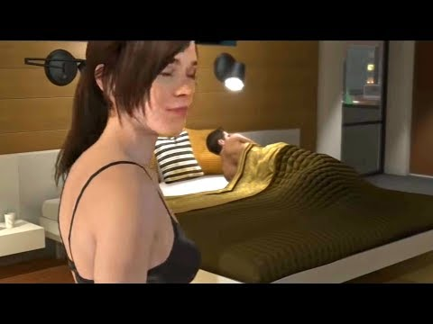 "Sex After Pizza Dinner Scene - Beyond Two Souls ""In Love with Ryan"" Trophy - Jodie"