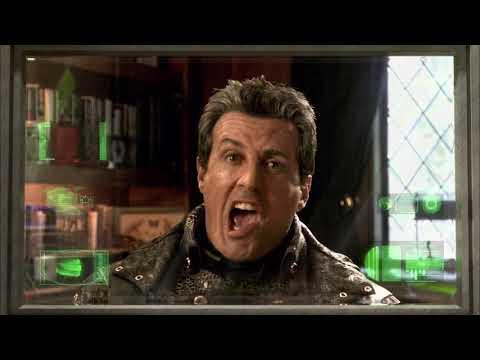 Spy Kids 3-D: Game Over/Best scene/George Clooney/Sylvester Stallone/Salma Hayek/Alexa Vega