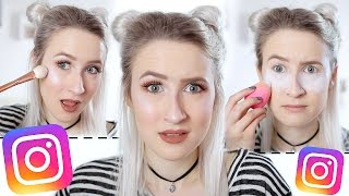 Video Trying INSTAGRAM Makeup (Baking, Cut Crease, Glow Kit, Lip Kit etc...) | Sophie Louise MP3, 3GP, MP4, WEBM, AVI, FLV Januari 2018