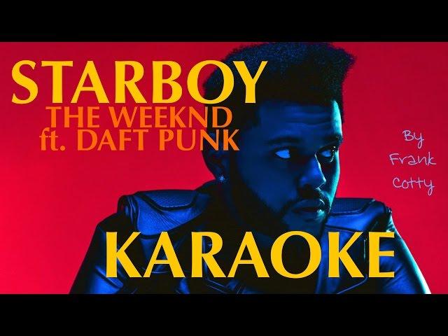 karaoke starboy lyrics