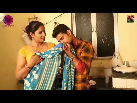 Hot aunty sex scene with a boy in kitchen