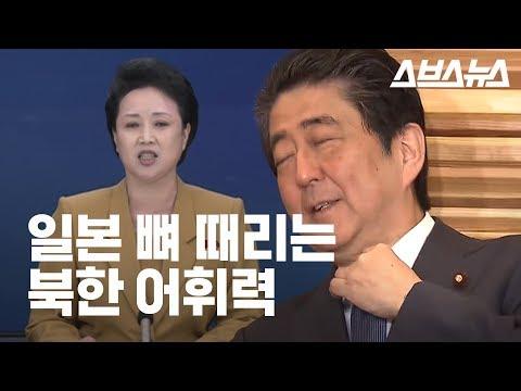 일본 뼈 때리는 북한 어휘력 (feat. 간악한 쪽바리)