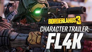 Borderlands 3 - FL4K Character Trailer: