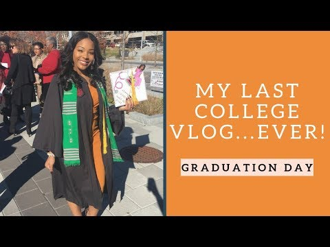 Graduation quotes - MY LAST COLLEGE VLOG EVER:  THE GRADUATION VLOG!!