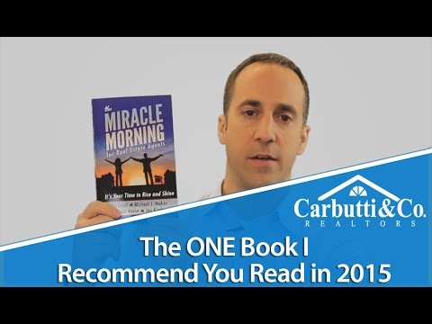 "Carbutti Coaching: Reading ""Miracle Morning for Real Estate Agents"""