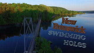 Woodstock (NB) Canada  city photos gallery : New Brunswick Swimming Holes ( Drone Video )