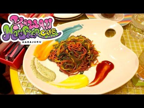 [ווידאו] סקירה של אירה צ'אן מהקפה Kawaii Monster Cafe