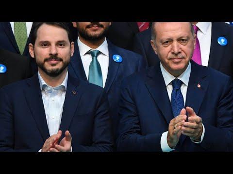 Erdogans Schwiegersohn Albayrak wird Finanzminister