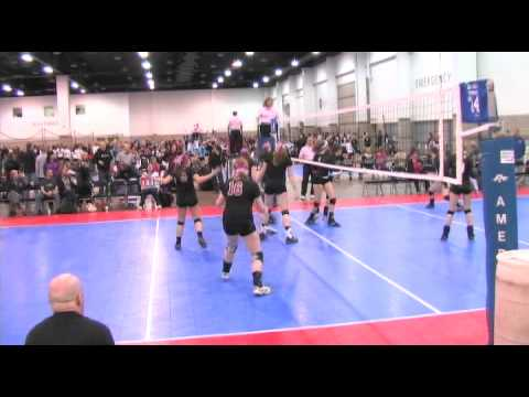 Roullier - Kazlyn Roullier #5 plays Outside Hitter for Club Catalyst Girls Volleyball in Spokane, Washington. Roullier is class of 2015. This is footage from the Colora...