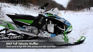 10. Arctic Cat 8000 BMP Muffler Comparison