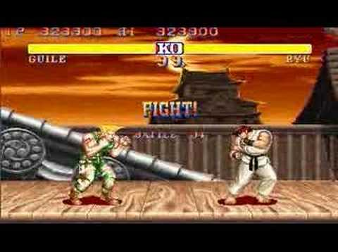 Street Fighter 2 - Street Fighter II World Warrior complete every round perfect with Guile on the Hardest Difficulty Setting.