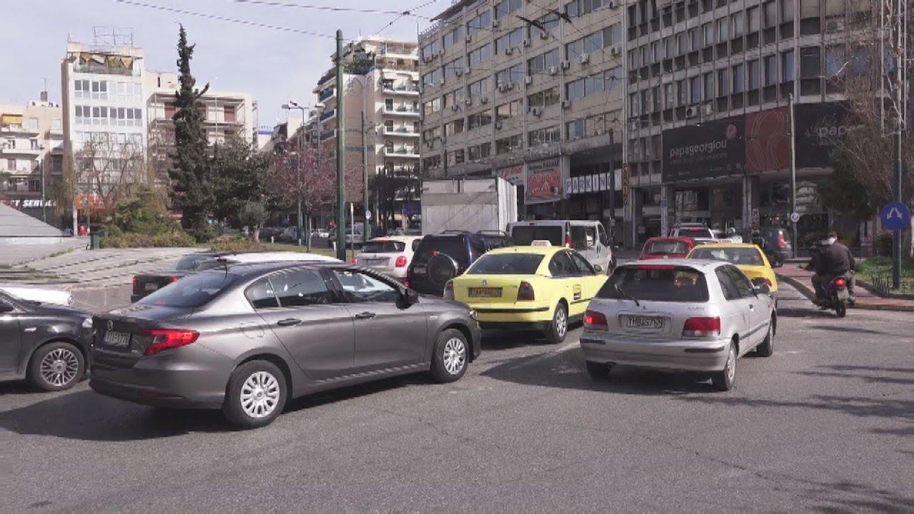 Έντονα κυκλοφοριακά προβλήματα στην Αθήνα