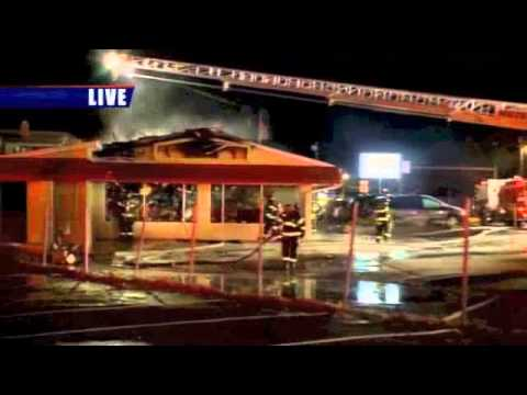 T-Shirt shop catches fire in South Bend