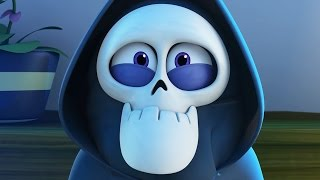 Video Funny Animated Cartoon | Spookiz Brand New Teacher 스푸키즈 | Cartoon for Children MP3, 3GP, MP4, WEBM, AVI, FLV Juli 2018