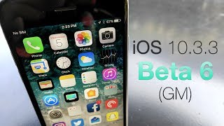"""Apple released iOS 10.3.3 Beta 6 today for developers and public beta testers.  I go over what's new, or not new in this case.Support ZOLLOTECH on Amazon:  http://amzn.to/2jxmglNGear I use:  http://kit.com/Zollotech/zollotech-gearWallpaper:  http://imgur.com/6pbkwowIntro Music:  """"Natoma"""" by Phaura  - https://soundcloud.com/phaura/natoma - Royalty free and used with permission by the Artist PhauraOutro Music:  """"Sunday"""" by Otis McDonald - Available in the YouTube Create Audio LibraryWebsite: http://www.zollotech.comFollow me on Google+ : http://google.com/+zollotechFollow me on Twitter: http://www.twitter.com/zollotechFacebook page: http://www.facebook.com/zollotechInstagram:  https://www.instagram.com/aaronzollo"""