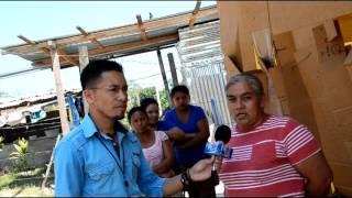 LIDERTV | Centros Educativos donde sus paredes son de cartón amarradas con cabuyas y plásticos en La