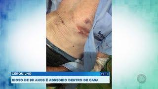 Idoso de 89 anos é roubado e agredido dentro de casa em Cerquilho