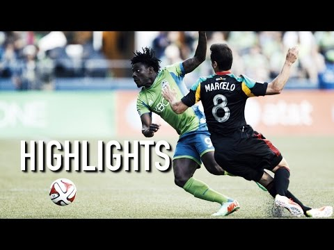 Video: Highlights: Seattle Sounders FC vs LA Galaxy