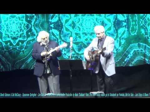 David Grisman & Del McCoury - Suwannee Springfest - Live Oak, Fl  3-19-2015
