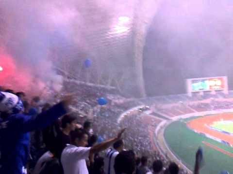 La fuerza Azul carnaval en el nacional vs las gallinas - Fuerza Azul - Cartaginés