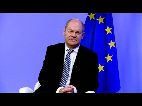 Ο Γερμανός υπουργός Οικονομικών Όλαφ Σολτς στο euronews