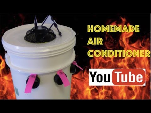homemade - Here is a do it your self way to build a cheap home made air conditioner . This is a great way to save money and stay cool this summer.