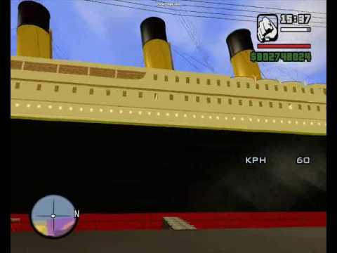 gta san andreas titanic