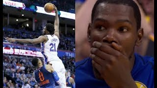 Video Most humiliating plays of the 2017/2018 NBA Season! (LeBron, Embiid, Harden, ...) MP3, 3GP, MP4, WEBM, AVI, FLV Juli 2019