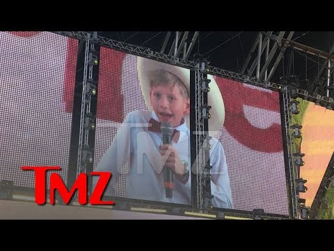 Yodeling Kid Mason Ramsey Performs at Coachella