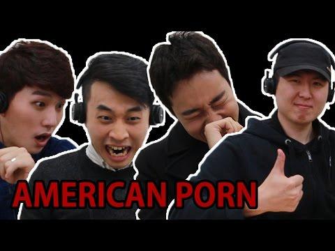 《韓國男看美國AV的反應》突然都感覺到了自己的「渺小」
