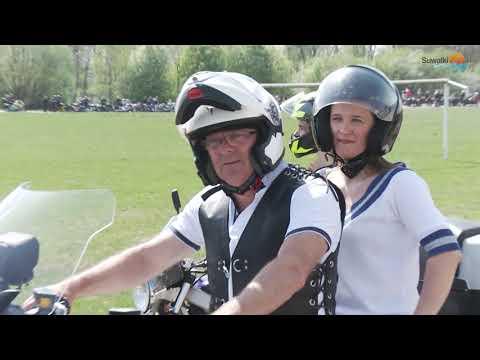 Junaki, ścigacze i Harleye. W Suwałkach motocykliści zainaugurowali sezon