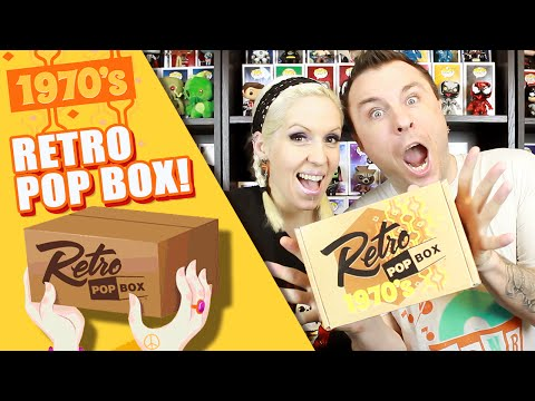 RETRO POP BOX : 1970s (December 2015 Edition) Unboxing Review