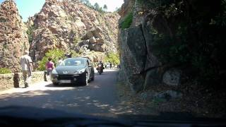 Driving on Corsican roads in a small car using a Panasonic GH1 & 14-42mm, near Piana, western coastline, middle of island... June 2011 Filmed and edited by ...