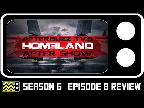 Homeland Season 6 Episode 8 Review & After Show | AfterBuzz TV