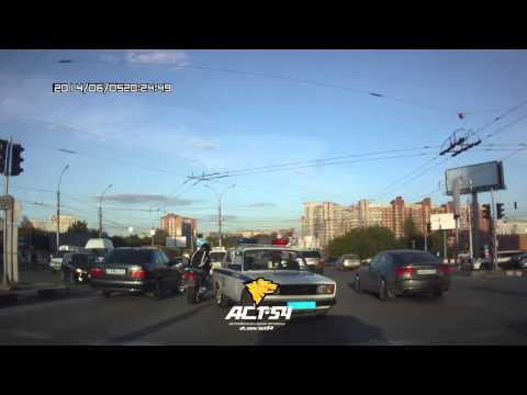 Сбил велосипедиста и попытался скрыться - DomaVideo.Ru