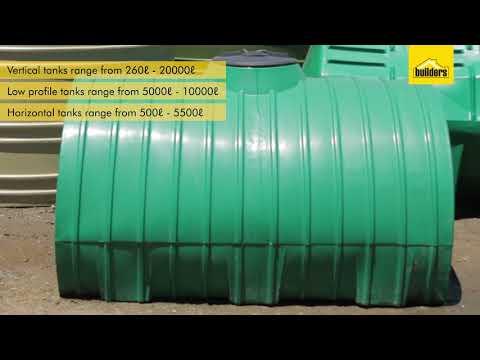 Rain Harvesting Tanks - Jojo Vertical, Horizontal and Underground Tanks