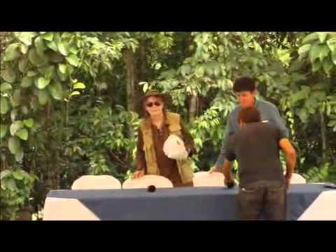 Mia Farrow Visits Ecuador's Lago Agrio Region