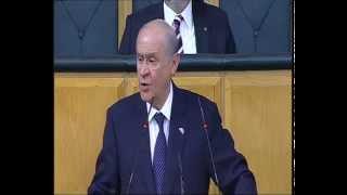 MHP Genel Başkanı Devlet Bahçeli'nin grup toplantısında konuştu