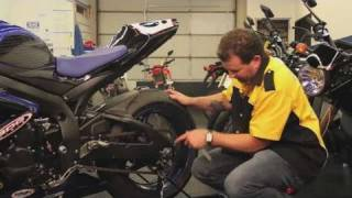 7. How to Adjust a Motorcycle Chain | Motorcycles