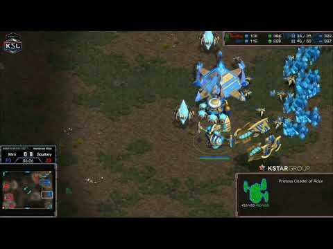 SOULKEY Vs MINI 2018 GAME #1 [KSL S2 STARCRAFT REMASTERED]