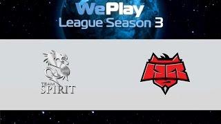 Spirit vs HR, game 1