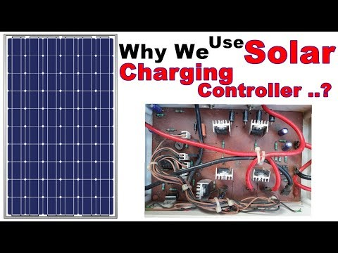How To Install Solar Panel and Charging Controller | Why We Use Solar Charging Controller With Panel