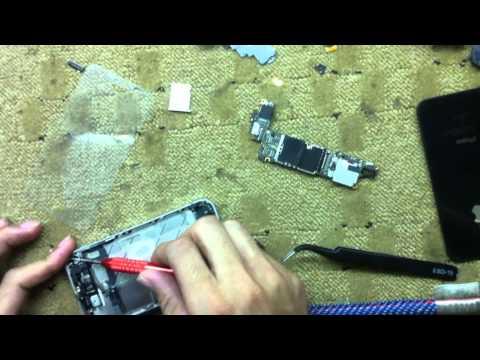 Hoc Viên Thực Hành Tháo Lắp iPhone 4S