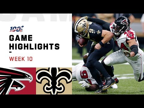 Falcons vs. Saints Week 10 Highlights  NFL 2019