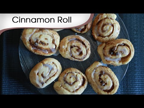 Cinnamon Roll – Tea Time Baked Cookie – Quick Snack Recipe By Annuradha Toshniwal [HD]