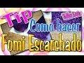 Tip: Como hacer Fomi Escarchado - YouTube