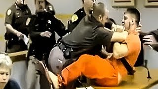 :: Cop-Killer Suspect Lunges At Victim's Family ::